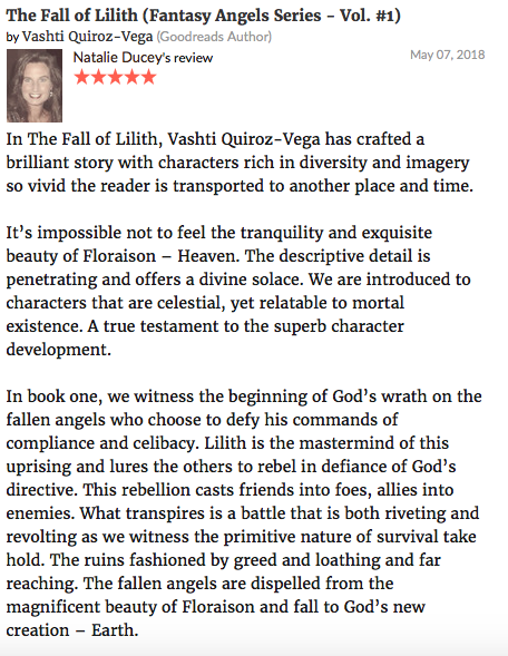 novel-the fall of lilith-lilith-vashti quiroz vega-Vashti Q-book-review-demons-angels-gadreel