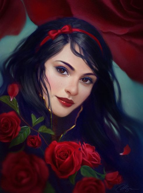 Snow White-Poetry_Friday-Vashti Quiroz Vega-fairy tales-Selenada-DeviantArt