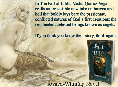 the fall of lilith-fantasy angels series-lilith-gadreel-Vashti Quiroz Vega-song-Poetry-excerpt-novel-virtual_book_tour