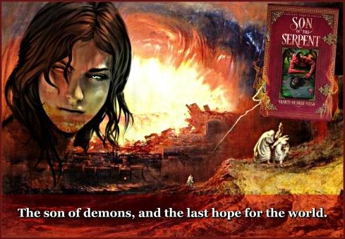 Son of the Serpent-Vashti Quiroz Vega-Fantasy Angels Series-paranormal-fallen angels-demons-gadreel-lilith-dracul