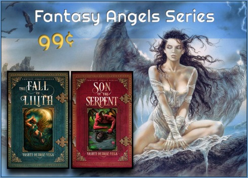 fantasy angels series-the fall of lilith-son of the serpent-on sale-books-genre-dark_fantasy-supernatural-vashti quiroz vega-Vashti Q