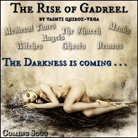 COVER REVEAL: The Rise of Gadreel (Fantasy Angels Series - BOOK 3)